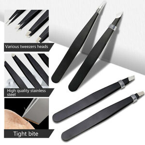 1 Pcs Stainless Steel Removal Eyebrow Tweezers Clip Beauty Makeup Tools
