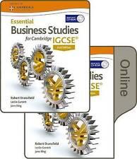 Los estudios de negocios fundamental para Cambridge Igcse por Dransfield, Robert, Cocina, Ter