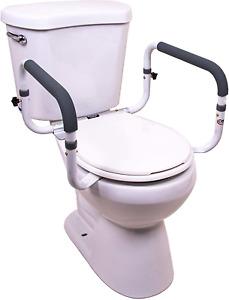 Bathroom Safety Elderly Rail Adjustable Toilet Frame Bars Seat Handicap Support