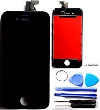 Schwarz LCD Display Touchscreen Komplettset Glas für iPhone 4S