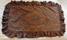 Ralph Lauren Brianna Paisley Pillow Sham Cover Brown Multi King (1)