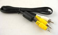 GENUINE FUJI 2.5mm TRS Mini Jack AV Cable Fits FinePix Camera Video to TV