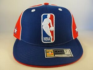 All Star Game 2004 NBA East Reebok Fitted Hat Cap Size 7 1/2 Blue Red