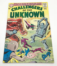 Challengers of the Unknown #42 (1965) FN, 1st app. LEAGUE OF CHALLENGER-HATERS!