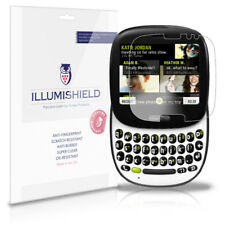 iLLumiShield Phone Screen Protector w Anti-Bubble/Print 3x for Microsoft Kin One