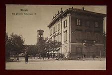 MERATE Via Vittorio Emanuele II - animata, viaggiata, anni 10 #13883