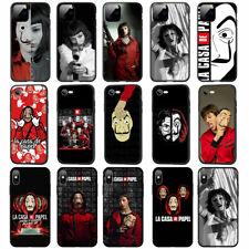 La Casa de papel TPU Case for iPhone 11 Pro XS MAX XR X 8 7 6 6S Plus 5 5S SE