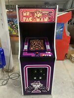 New Purple Ms. PacMan Arcade Machine, Upgraded To Play 412 Games!