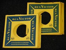 Lot Of 24 RCA VICTOR RECORDS 45 Rpm USA COMPANY SLEEVES 1960's ELVIS PRESLEY