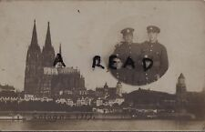 WW1 soldier group Hampshire Regiment Cologne 1919 Rhine Army of Occupation