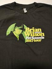 Brian Wilson Pet Sounds 2017 Tour T Shirt M Black