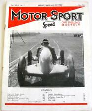 MOTOR SPORT/ Speed Magazine Vol 22 No 7 Jul 1946