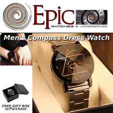 EPIC TIME- Men's Compass Dress Watch