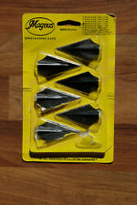 2 blade fixed broadheads 100 grain Magnus glue-on double bevel recurve long bow