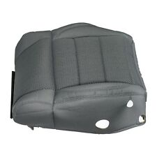 07-08 JEEP WRANGLER FRONT LEFT DRIVER BOTTOM SEAT CUSHION COVER DARK SLATE MOPAR
