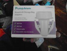 PUMPMOM Breastmilk Storage Bag 2 Adapters