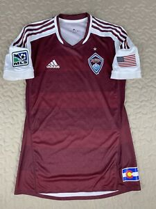 Colorado Rapids Adidas 2013 Authentic Soccer Futbol Jersey Mens Sz S Small