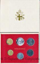 1980 Vaticano Serie divisionale FDC Papa Giovanni Paolo II 500 Lire argento