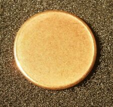 """BLANK PENNY PLANCHET, MINT ERROR, 2.5 GRAMS, """"COMBINED SHIPPING"""""""