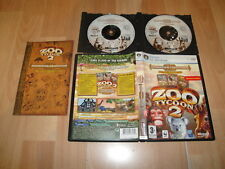ZOO TYCOON 2 ZOOKEEPER COLLECTION CON 2 EXPANSIONES PARA PC EN BUEN ESTADO