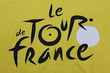 Le Tour de France L/XL yellow t shirt France bike race