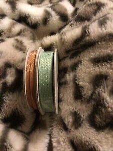 Stampin' Up Basketweave & Metallic Ribbon Combo Pack