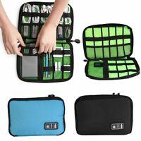 Electronic Organizer Travel Cable Organizer Portable Accessories Bag Gadget Case