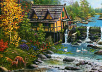 500 Pieces Jigsaw Puzzle Water Mill - Brand New & Sealed