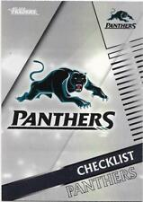 2018 NRL Traders Pearl Parallel (PS101) PANTHERS Checklist
