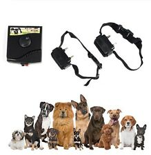 Dog Pet Fence Fencing System Underground Electric 2 Dogs Shock Collar Waterproof