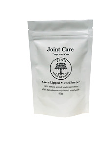 Parr's natural Joint Care - dogs & cats - 100% green lipped mussel powder- 60g