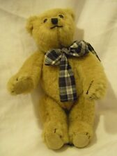 """Canterbury Bear Winston 10"""" Fully Jointed Mohair Collectible"""