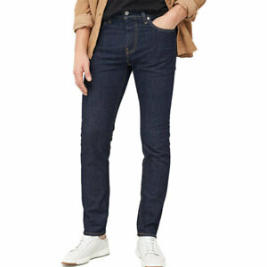 LEVIS 511 Mens Jeans Original Riveted Stretch Slim Fit Wash Indigo Denim