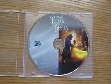 Beauty and the Beast 2017 3D Blu-Ray Disc ONLY