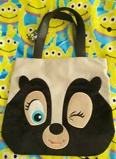 Disneyland Paris Exclusive Flower from Bambi Tote Shopping Bag with Furry Detail