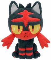 "Pokemon Sun Moon Nyabi Litten New Release 6"" Plush Soft Stuffed Doll Toy"