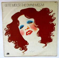 BETTE MIDLER The Divine Miss M DISQUE LP VINYL 33 T 40 453 France 1972