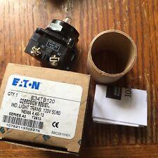 Eaton E34TB120 Indicating Light Transformer NIB