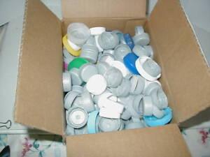200 + Bottle Plastic Caps Tops Crafts Education Target Practice Multi Use