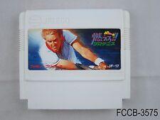 Moero! Pro Tennis Famicom FC Japanese NES Import Nintendo US Seller B/Good