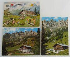 3x Arthurhaus Gaststätte bei Mühlbach a. Hochkönig Österreich Postkarten ungel.