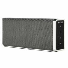 Acoustic Solutions Bluetooth Wireless Speakers Rechargable Battery Black 4027711