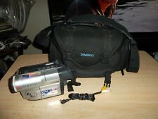 Samsung Scl810 Hi8 8Mm Video8 Vcr Player Camcorder W/Bag Parts/Fix As-Is.
