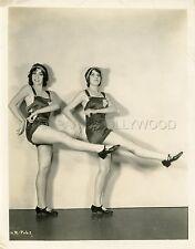 SEXY DANCERS  RED HOT RYTHM  1929 VINTAGE PHOTO ORIGINAL