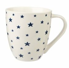 Churchill Couture Sieni Stars Ink Blue Fine China Mug Large 500ml Coffee Cup
