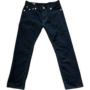 True Religion World Tour Ricky Super T Seat 34 Jeans Black 38 x 32