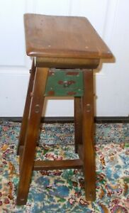 Vtg ACCENT SIDE TABLE  CABIN Lodge Resort Pine Hand Crafted