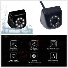 170° HD CCD Car Auto Mini Rear View Backup Camera Mental Waterproof Night Vision