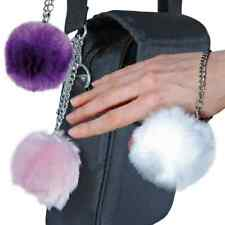 Fur Ball Buzzer 100 dB Personal Alarm Available in White, Pink, And Purple