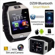 Reloj Inteligente SmartWatch GSM SIM Bluetooth Camara FR Móvil iOS Android